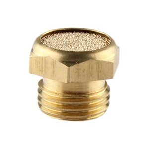BSLM Sintered Bronze Breather Vent Silencer