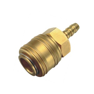 SH2 Brass Hose Barb Socket Quick Coupling