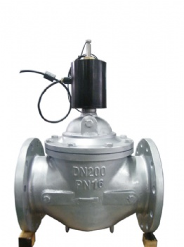 DN200 Anti-Proof With Signal Feedback Solenoid Valve
